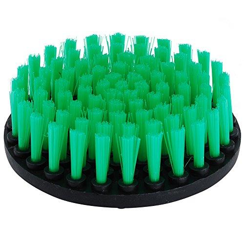 oxoxo HSS-Bürste–12,7cm Power Bohraufsatz Schrubben Steifheit Medium Duty Scrub Reinigungsbürste für Reinigung Badezimmer Oberflächen Fliesenfugbrett Duschen