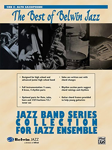 Jazz Band Collection for Jazz Ensemble: 2nd Alto Saxophone (Best of Belwin)