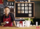 Melitta E 970-101 silber Kaffeevollautomat Caffeo CI (One-Touch-Funktion, LCD-Display, Milchbehälter,  Cappuccinatore) -