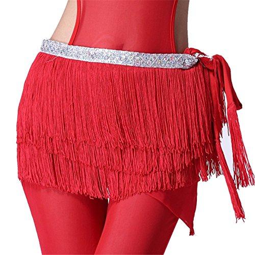 dance-accessories-tribe-costume-danza-del-ventre-anca-sciarpa-gonna-3-rows-tassels-wrap-cintura