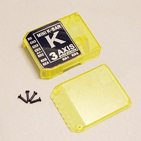 Bluelover K8 3 Axis Gyro kbar V2 Parti Flybarless sistema kbar Colorful Caso Giallo
