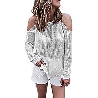 Mujeres Tops Rovinci Las Mujeres cómodas Prendas de Vestir Exteriores de Moda con Capucha de Manga Larga Prendas de Punto Abierta Frente de la Rebeca suéteres Prendas de Vestir Exteriores S-XL