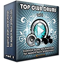 Top Club Drums Vol. 1 - Essential Drums and Drum Loops for Modern Music Production. Very Useful for Dj-Club Productions: Dance, Techno, Trance, Hardstyle, Hands Up, Electro Drum Samples [DVD non BOX]