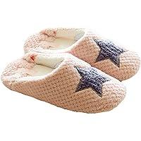 Butterme Donne sveglie Crochet Knit Bow antiscivolo morbido pelo Scarpe