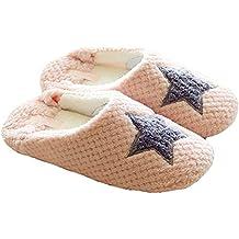 ZUMUii ZUMU00002047 - Zapatillas de estar por casa para mujer rosa Rosa EU 37-38