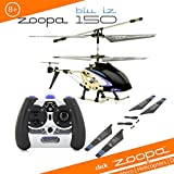 Acme-zoopa 150Blu Iz 2.4GHz helicopter with Ambient Lights |60m Range/Aluminium Frame/Easy to Fly with latest gyroscope technology (AA0178)