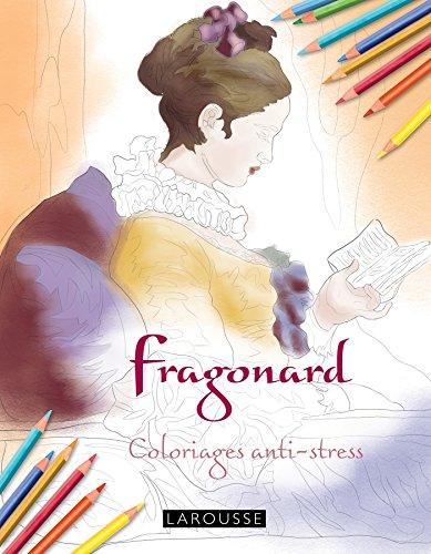 Fragonard coloriages anti-stress