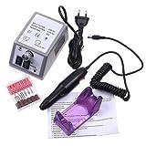 Goldman Fresa per Unghie Professionale Elettrica Manicure Pedicure 20.000 Giri/Min immagine