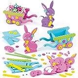Coniglietto di Pasqua con Carretto 3D in Spugna (confezione da 2)