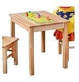 1199 - Kinder- oder Beistelltisch aus kernbuche massiv Holz