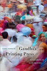 [Gandhi's Printing Press: Experiments in Slow Reading] (By: Isabel Hofmeyr) [published: March, 2013]