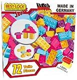 Best-Lock G13073 - Junior Bausteine, 72 Teile