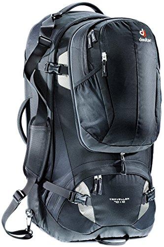 b068d08ac9 Deuter 3510115-7400 Sac à dos Noir/Argent Taille : 74 x 38 x