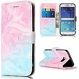 Coque pour Samsung Galaxy S6 Housse de protection horizontale Housse de portefeuille en cuir PU de luxe avec fermeture magnétique et porte-cartes et porte-billets ( Color : E )