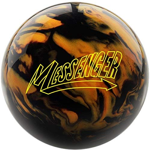 Schwarz/Gold Pearl Oberfläche, Reaktiv Bowlingkugel für Einsteiger und Turnierspieler - inklusive 100ml EMAX Ball-Reiniger Größe 12 LBS ()