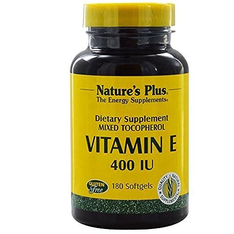 Nature's Plus - Vitamine E Mixed Tocopherol 400 IU - 180 Gélules