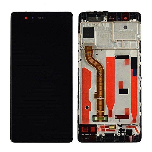 imponic Für Huawei P9 Display LCD Touchscreen Einheit kompatibel mit Rahmen (schwarz) (Doll Display)