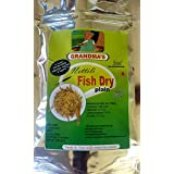 Grandmas high Quality in-House Solar Dried (suka machali) nettili Fish - anchovies | Head and Tail Already Removed | no Wastage | 200 GMS Pack of 2