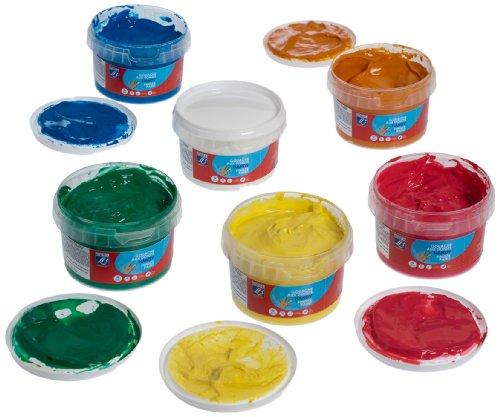 lefranc-bourgeois-pack-de-gouache-para-pintar-con-los-dedos-6-tubos-de-200ml