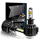 Best Led Headlights - TECHMAX H1 LED Headlight Bulbs, All-in-One Conversion Kit Review