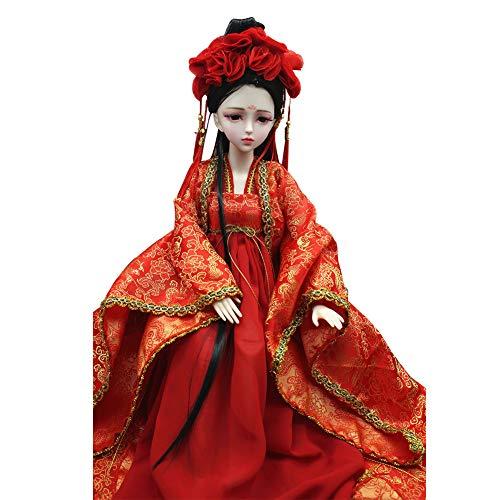 MEMIND Kinder Spielzeug schöne Puppe 1/3 Bjd Puppe China alte Antike heiraten Puppe 60 cm Braut Kostüm Puppe Dekoration Mädchen - China Doll Baby Kostüm