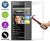 ZeWoo Display Glas Panzerfolie für BlackBerry Z3 (NICHT FÜR BlackBerry Z30) Glasfolie Hartglas Schutzfolie 9H *2.5D, nur 0,33mm dünn