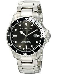 Stuhrling Reloj con movimiento cuarzo suizo Man Regatta Elite Casual Aquadiver 42 mm