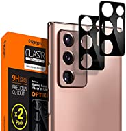 Spigen Optik Camera Lens Screen Protector [2 Pack] designed for Samsung Galaxy Note 20 ULTRA - Black