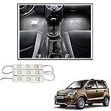 #3: Vheelocityin 9 LED Custom Cuttable Car White Light for Interior/ Exterior For Maruti Suzuki Wagon R 1.0 New
