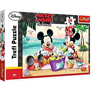 Puzzle maxi 24 Piknik na plazy