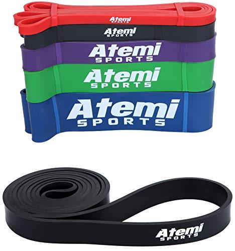 Widerstandsbänder | Fitnessbänder für Krafttraining und Fitness | Trainings Bänder / Klimmzug Band in verschiedenen Größen ideal für Crossfit und Calisthenics