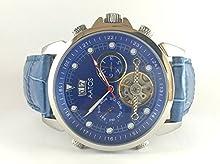 Comprar Aatos automático para hombre reloj de pulsera Azul niraxlsbl