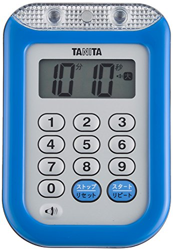 Tanita imperm?able minuterie fort TD-377 bleu (japon importation)