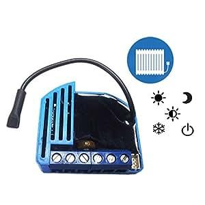 ZMNHJD1 - Module Fil pilote pour radiateur électrique - Zwave+