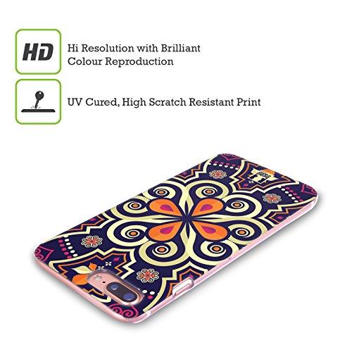 Head Case Designs Folklore Russo Stampe Etniche Multiculturali Cover Retro Rigida per Apple iPhone X Mandala Marocchina
