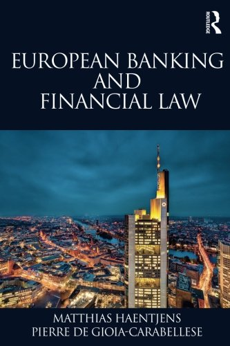 European Banking and Financial Law