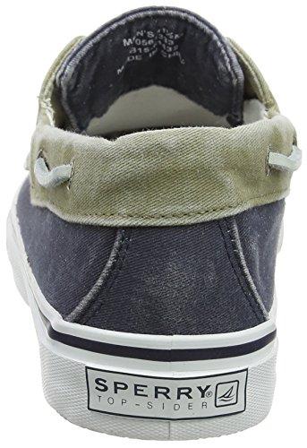 Sperry Top-Sider - Bahama 2- Eye -  Chaussures Bateau à  Lacet - Homme - Multicolore (Navy/Khaki)