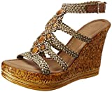 Catwalk Women's Beige Fashion Sandals - 5 UK/India (37 EU)