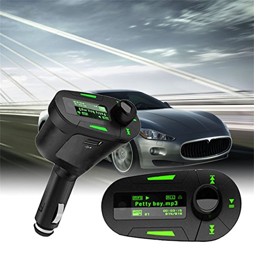 Jullyelegant-Car-MP3-Player-Wireless-Music-Trasmettitore-FM-Modulatore-USB-e-telecomando