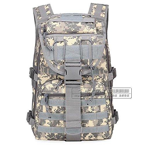 Militärische Fans Schulter Taktischen Angriff Tasche, Tarnung Computer - Tasche, Männer Und Frauen In Der Tasche - 40L Wander - Tasche Digital
