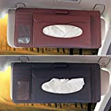 leather tissue box cover cd storage case bag car holder paper generic multifunctional