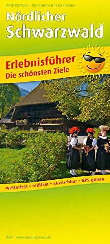 Preisvergleich Produktbild Nördlicher Schwarzwald: Erlebnisführer mit Informationen zu Freizeiteinrichtungen auf der Kartenrückseite, wetterfest, reißfest,abwischbar,  GPS-genau. 1:150000