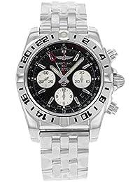 Breitling de hombre ab0420b9/BB56analógico automático para hombre plateado reloj