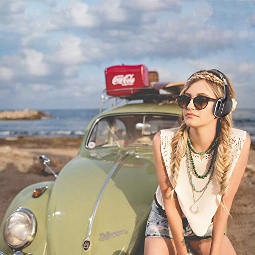 Kingyou Bluetooth Kopfhörer Funk Für Fernseher On Ear Kopfhoerer Kabellos (HD007 Schwarz) - 9