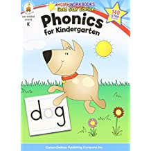 Phonics for Kindergarten, Grade K: Gold Star Edition (Home Workbooks)