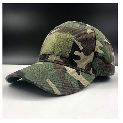 S*women's hat Schatten Männer wome armeetarnung Camouflage baseballmütze schatulle Hut wandern baseballmütze Jagd Angeln wüstenhut Stilvoll (Farbe : ArmyGreen, Größe : 56-60CM) Camouflage Womens Hut