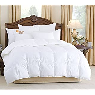 ALL SEASONS COMBINATION GOOSE FEATHER AND DOWN DUVET QUILT 15.0 TOG (10.5+4.5) (Double 200cm x 200cm)