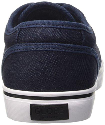 GlobeMotley - Scarpe da Ginnastica Basse Unisex – Adulto Blau (Blue/Black)