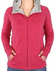 Bench Highlight Zip Jacket Deep Red Heather