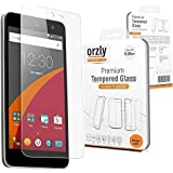 "Orzly - Premium Tempered Glass Screen Protector for WileyFox Swift SmartPhone (Original 5"" HD Screen Version / 16GB ROM Model - 2015) - 0.24mm Protective Oleophopbic Screen Guard - Transparent"